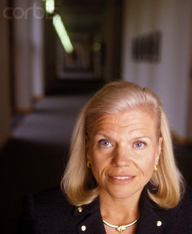 Portrait of Virginia Rometty