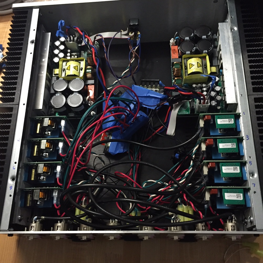 LX521 Speaker build- the Hypex multi-channel amplifier - Totally Should!